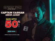 Buy the New Stylish Captain Cassian Andor Brown Jacket