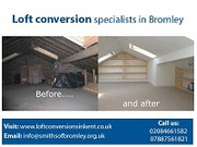 Loft conversion specialists in Bromley