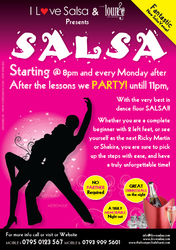 SALSA @ THE LOUNGE BAR (CHISLEHURST)